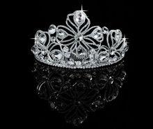 In Bulk Bling Bling Hair Accessories Crystal Rhinestone Wedding Crowns