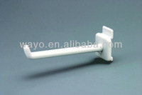 New Product Hold ABS Material Single Cardboard Display Plastic Hook