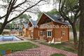 luz de acero de china casas prefabricadas para el uso familiar