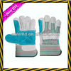 Cheap safety leather gloves/ leather safety gloves with palm reinforcement