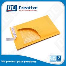 Self-seal Golden Kraft Bubble Envelopes, Padded Mailer