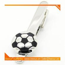 Cufflinks ZB1876 - Football Tie Clip - Cufflink Manufacturer,low price cufflink