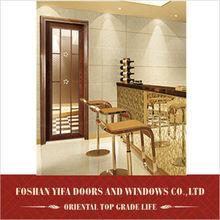 modern interior inner metal glass doors