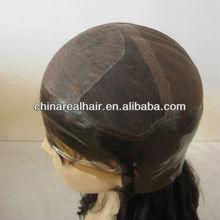100% human remy hair PU thin skin silk top full lace wig