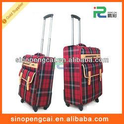 EVA cheap trolley travel wheel luggage suitcase