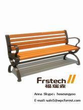 plank bench park bench solid wood garden bench OEM factory in jiangsu China