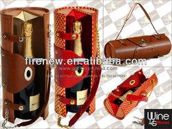 Wine carrier & purse for single bottle