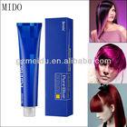 New formular low ammonia free hair dye samples