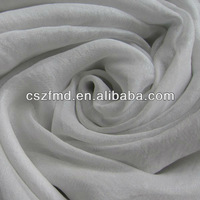 2014 new design polyester silvering chiffon breathable dress fabric