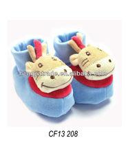 coperta del bambino peluche animale pantofola
