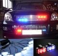 8x4 strich strobe led licht für die polizei auto- led448- rot/blau/grün