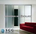 alta qualidade de vidro fosco da porta interna fábrica fornecedor com iso ccc e ce