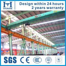 Light Weight Hoist Monorail Crane Used in Workshop