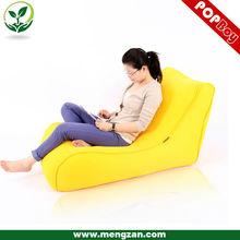 extra long soft recliner bean bag sofa, comfortable single bean bag sofa