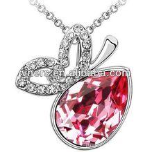 hip-hop necklace fashion diamon crystal glitter necklace