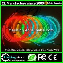 Flashing el wire machine