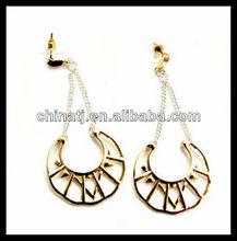 fashion Bohemia style alloy drop personalize earrings