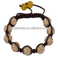 Czech Crystal shambala bracelet czech crystals stone bracelets