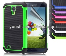 Hybrid Silicone Mobile Phone Case For Samaung Galaxy S4 I9500