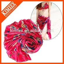 Brand fashion custom colorful scarves wholesale pashmina