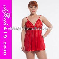 Manufacturer xxl Big girl plus size lingerie sexkiss