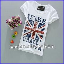 china wholesale uk flag t shirt high quality cheap t shirts bulk new model t shirt women