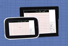 DMS Portable wireless Tablet PC Resting ECG 12 lead notebook ECG