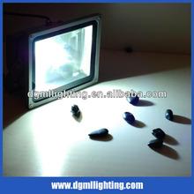 30W/50W/10W RGB outdoor LED flood light for public