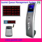 Full queue management system ticket vending dispenser button making machine