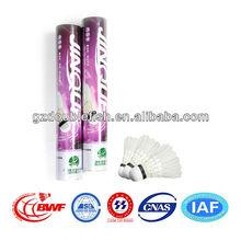 best quality badminton shuttlecock 208 discount / allowance