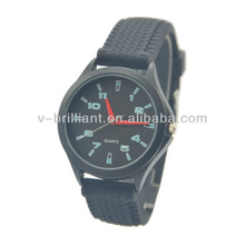 cheap silicone wristband custom made watches