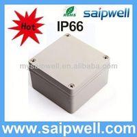 2013 New ip65 plastic waterproof electrical junction box IP66 125*125*75mm