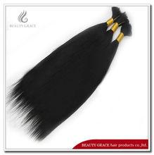 Unprocessed raw Brazilian virgin straight hair bulk free shiping