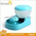 Viejo estilo portátil perro tazón de agua/automática bebedor de perro