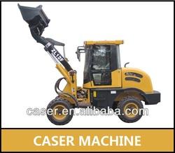 Mini hydraulic capacity 1.2ton ZL12 wheel loader with CE