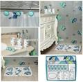 alta qualidade últimas design peixes de cerâmica do banheiro acessório