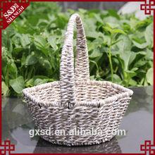 SD straw rope supermarket fruit and vegetable basket
