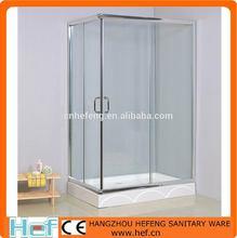 hef vetro temperato angolo cabina doccia stile aperto