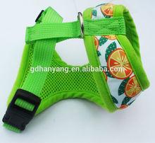 2015 Soft Dog Harness Mesh Fabric Pet's Harness Dog Harness