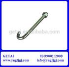 J Anchor Bolt M42 Grade 8.8