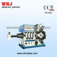 TK-5160-5 National Patent of CNC Spring Making Machine
