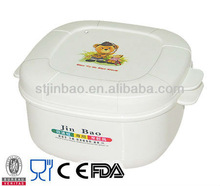 247 Promotion microwave freezable baby plastic round food box with lid