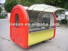 mobile fast food cart / hot dog food cart/kioscos fast food
