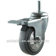 Medium Duty High Elascity Rubber caster wheel