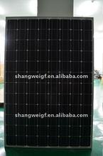 255w Mono Solar Panel high efficiency for solar power system
