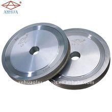 Diamond bond glass grinding profile wheel to furniture glass shower screen on irregular shape machine