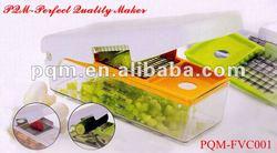 Senior durable manual PP&PS salad fruit and vegetable chopper 001