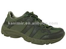 Elastic shoe lace walking shoes