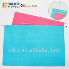 Elegant A4/FC Colourful Paper Hanging File