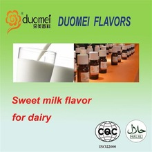 Sweet milk flavour for dairy products,flavour